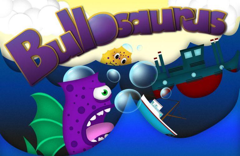 Capture d'écran du mini jeu Bullosaurus